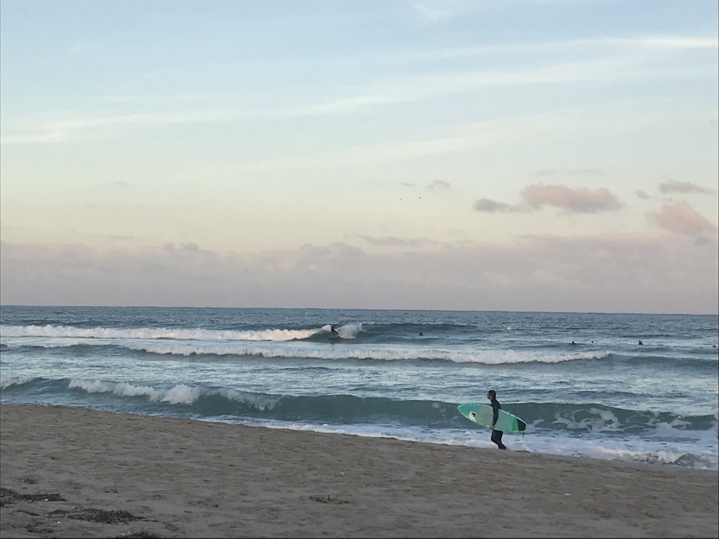 Plenty of waves on tap - South Florida